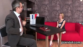 sultry schoolgirl gets teased and drilled by her.