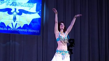 my debut at the contest of oriental dance.