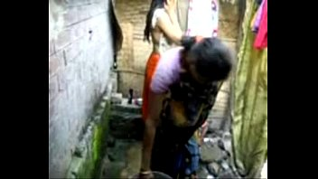bangla desi village girl bathing in.