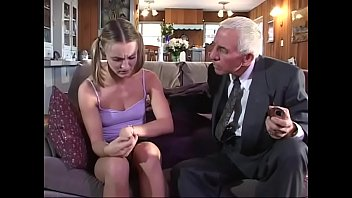 young girl gets fucked by old.