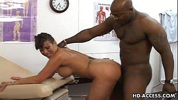 big tits asian enjoying some interracial.