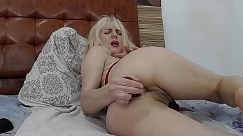 hot blonde pussy closeup - gorgeous russian moaning.