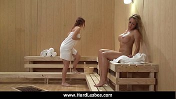 08-busty lesbians share big sex toys