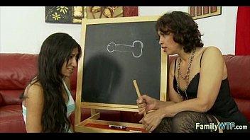 mother teaching daughter 248
