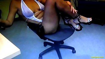 webcam foot fetish tease