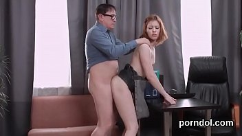 cuddly schoolgirl gets seduced and banged by her.
