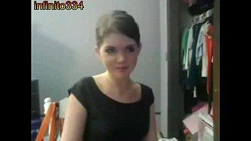 chica de 19 por webcam