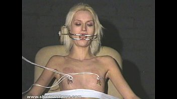 extreme needle tortures and hardcore bdsm of blonde.