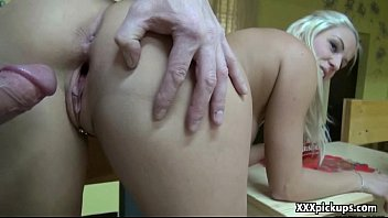 cute young girl gets a rough pickup fuck 07