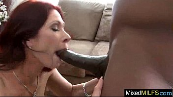 big black cock fill horny sexy mature lady vid-28