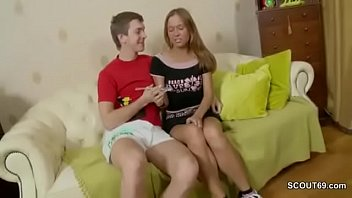 hot step-sister seduce to first ass fuck by step-brother