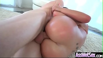 (savana styles) superb oiled girl with big ass.