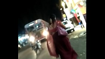 desi hijra karisma in sexy seductive red saree.