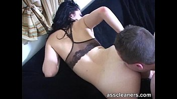 mistress demands slave to lick her ass until.
