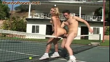 tennis court and extreme sex in.