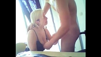 webcam blowjob couple blonde gf suck.
