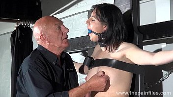 gagged slave honesty cabelleros erotic domination and nipple.