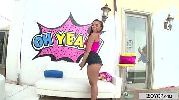 big ass ebony babe jamie marleigh flaunts her.