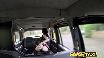 fake taxi huge creampie for sexy skinny young.