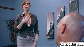 (lauren phillips) sexy big tits office girl love.