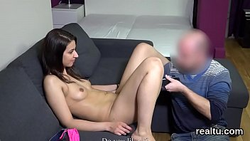 luscious czech girl is seduced in the mall.