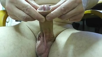ring finger full inside my cock