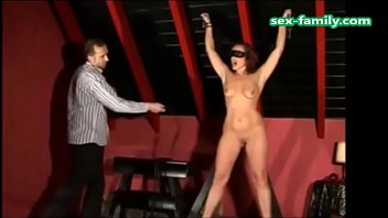 www.sex-family.com - rich boy punish young brunette really hard