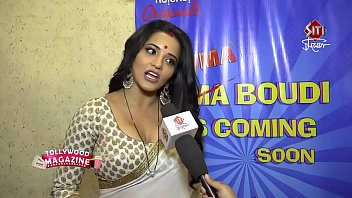 hot bhojpuri bombshell wife sweating in big huge boobs...
