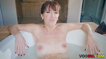 mommy alana cruise gets anal pounding in the bathroom