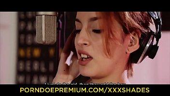 xxx shades - slim redhead caomei bala intense pounding