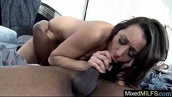 horny milf (kaylynn) in mixt sex tape on.