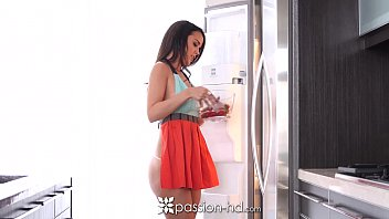 passion-hd - half naked cooking cutie dillion harper.