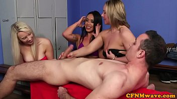 cfnm milfs wanking cock at the.