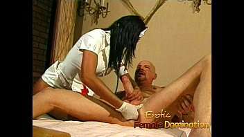 busty nurse fucks her kinky patient with a.