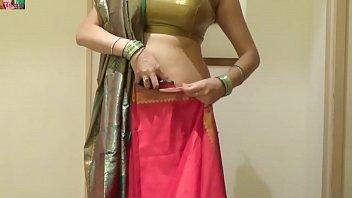 how to tie seedha palla saree.