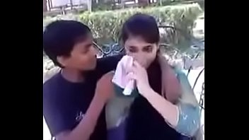 indian teen kissing and pressing boobs.