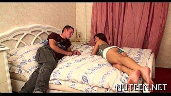 sexy gals disrobe their boyfriend