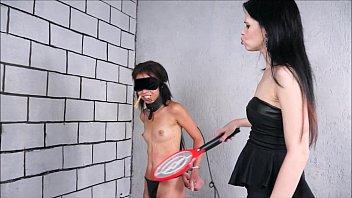 lezdom debutant pollys domination by karina cruel punishing.