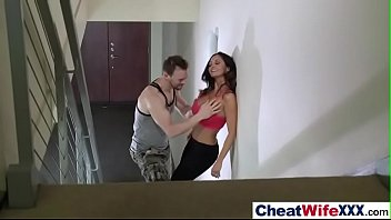 (ava addams) cheating hot housewife in hard style.
