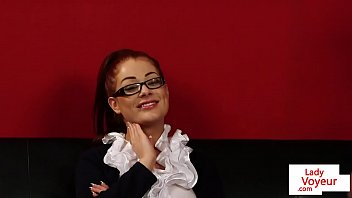 spex beauty instructing submissive guy