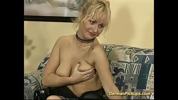 german milf picked up for her.