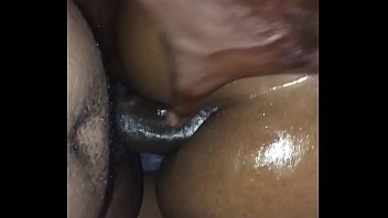 pretty ass oiled black anal