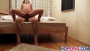 busty hottie vanessa decker rides dick