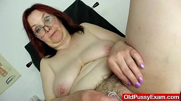 hairy grandma enema during a medical.