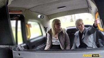 fake taxi two dutch ladies get hot and sweaty