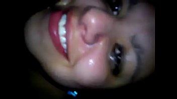 juana latina licking ass and gagging.