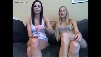 girls play sexy jerk off card game joi.