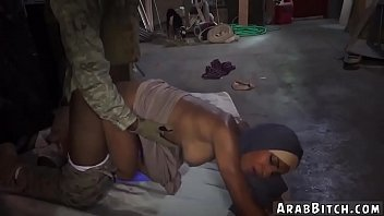 public arab slave first time the booty drop.