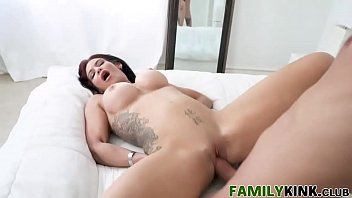 family roleplay sex with tattoo stepmom