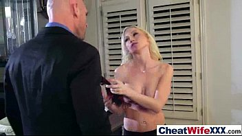 amazing sex on tape with cheating nasty housewife.